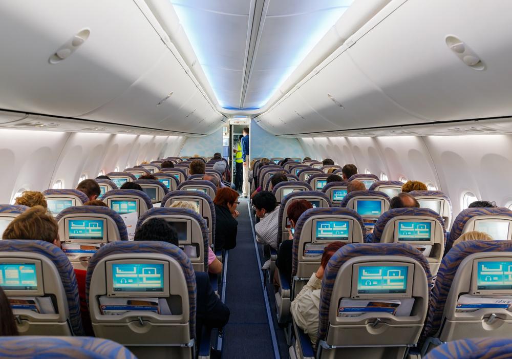 Genieten van je vlucht